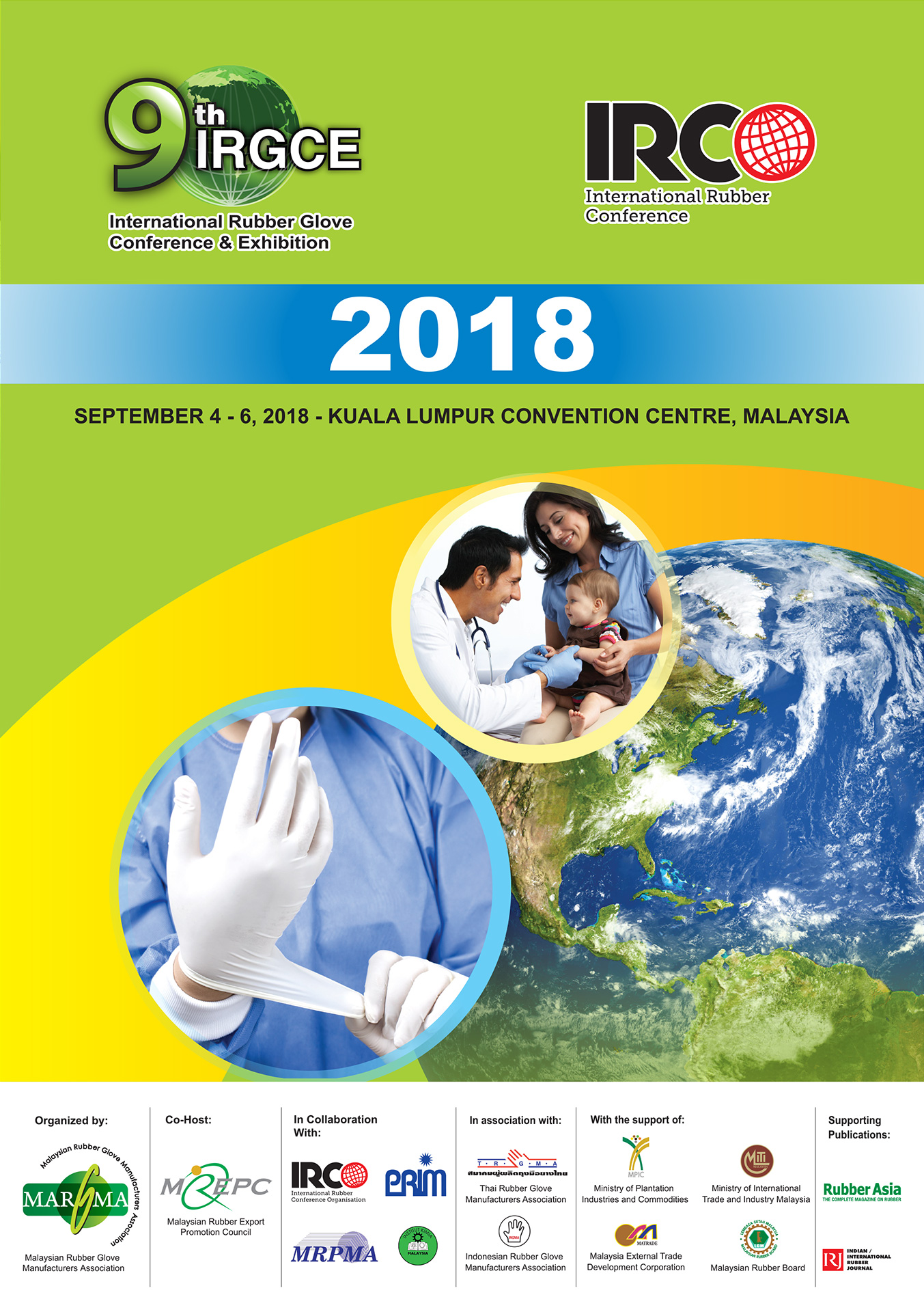 9th International Rubber Glove Conference and Exhibition 2018 – Margma